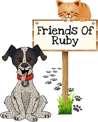Support Animal Advocates as a Friend Of Ruby!